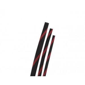 Оплетка для кабеля Черно-Красная 6/10/12мм
